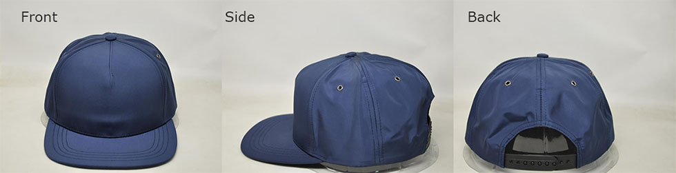 4eb10c93866 Customizable navy snap back ball cap. Get A Quote